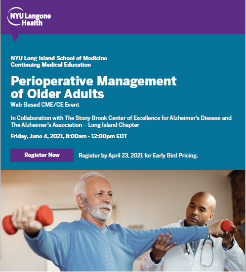 Perioperative Management of Older Adults Banner