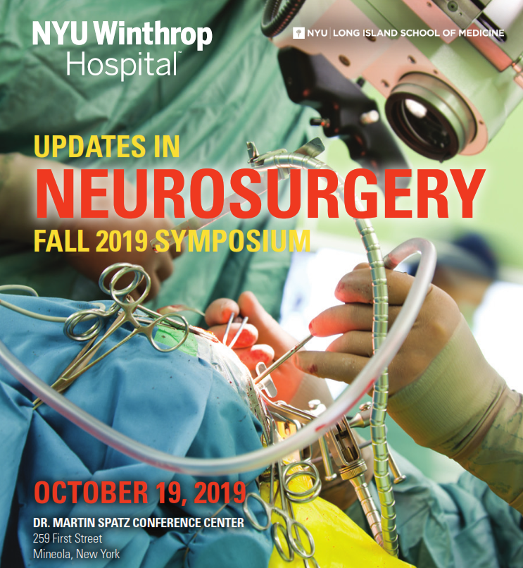 Updates in Neurosurgery Fall Symposium 2019 Banner