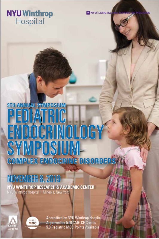 9th Annual Pediatric Endocrinology Symposium: Complex Endocrine Disorders Banner