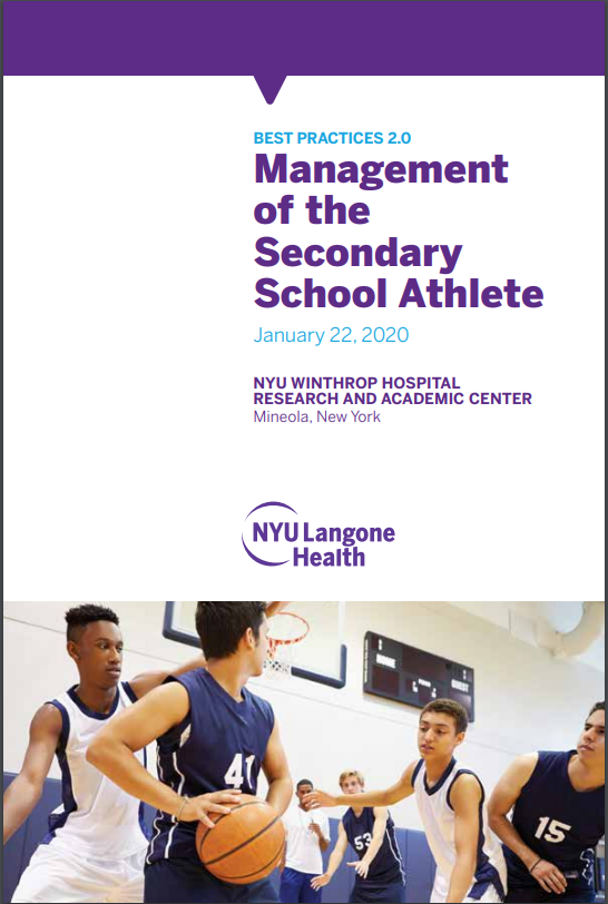 Best Practices in the Management of the Secondary School Athlete Banner